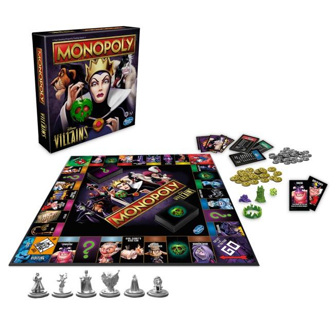 Disney Villains Monopoly Game