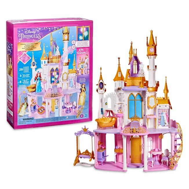 Disney Princess Ultimate Celebration Castle Dollhouse by Hasbro