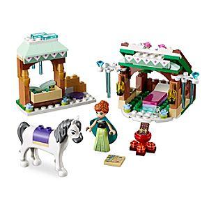 Disney Store Anna's Snow Adventure Playset By Lego