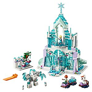 Disney Store Elsa's Magical Ice Palace Playset By Lego