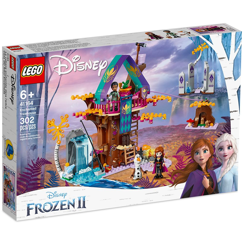 Enchanted Treehouse Building Set by LEGO – Frozen 2