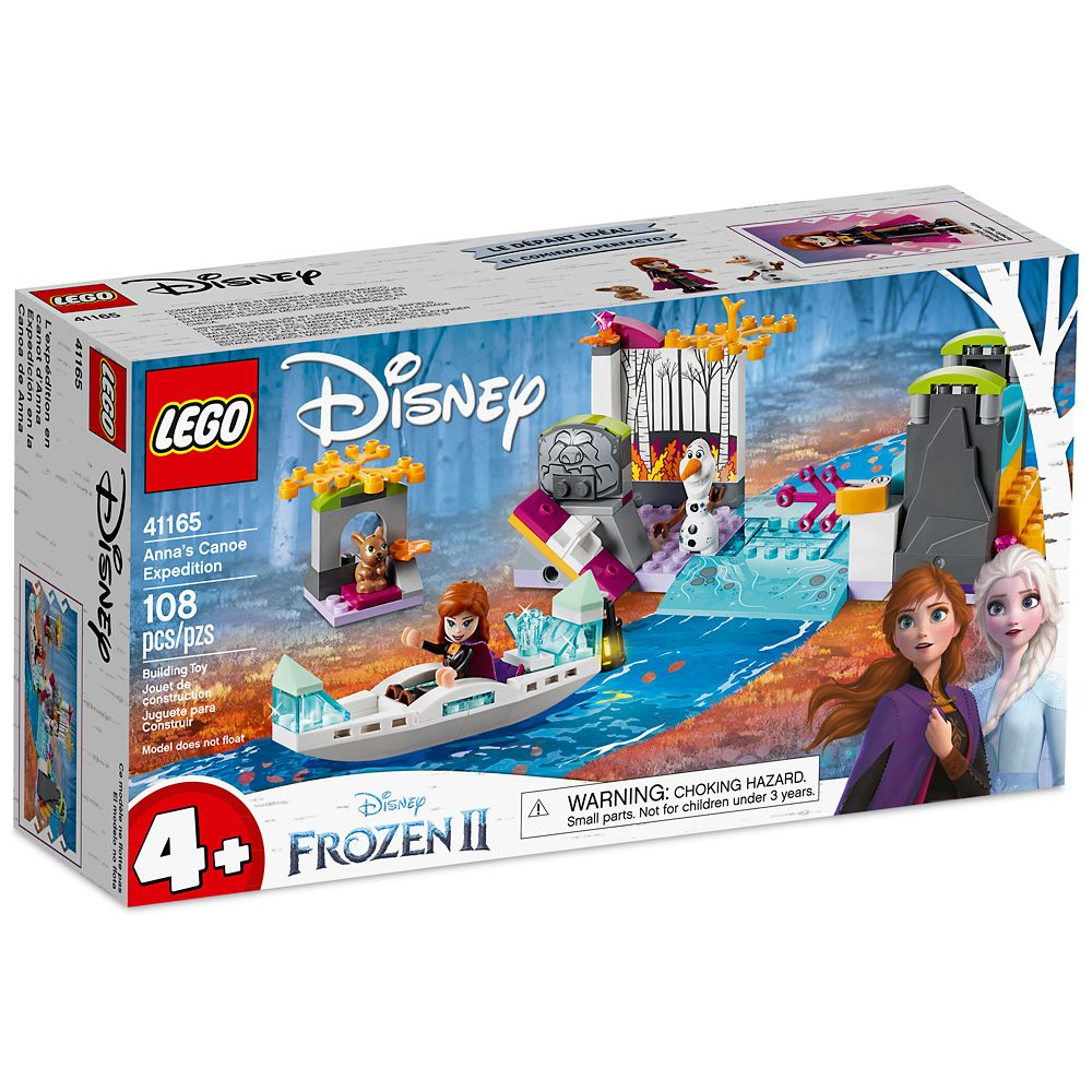 Anna's Canoe Expedition Building Set by LEGO – Frozen 2
