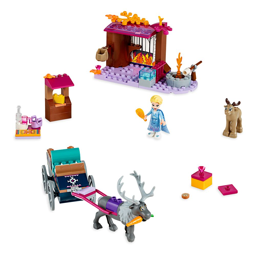 Elsa's Wagon Adventure Building Set by LEGO – Frozen 2
