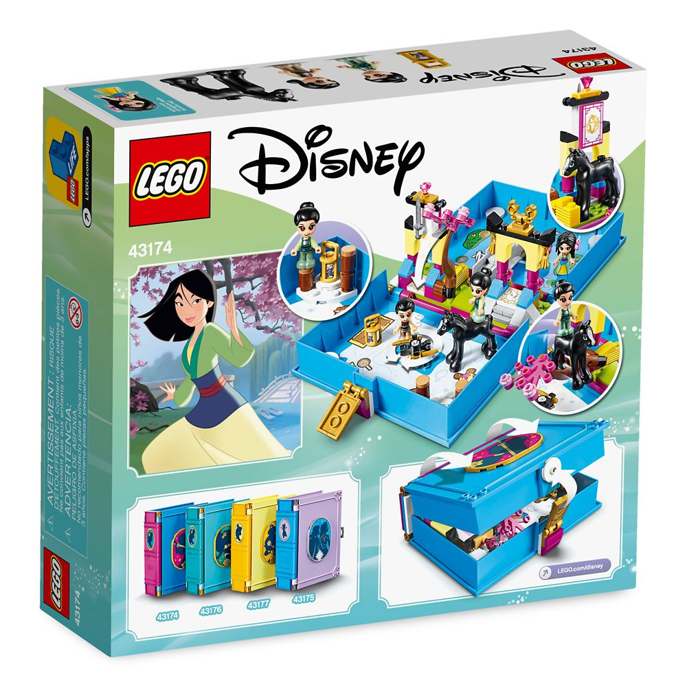 Mulan's Storybook Adventures Building Set by LEGO