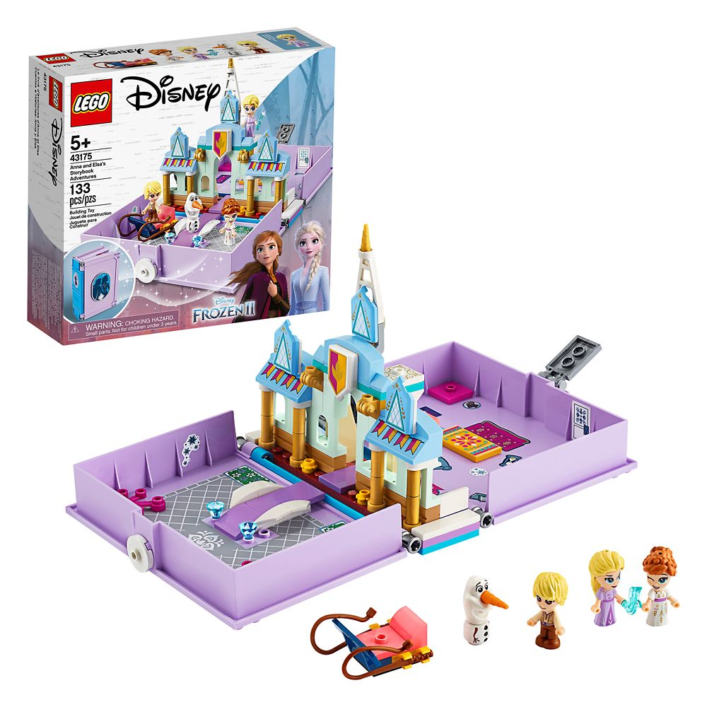 Anna and Elsa's Storybook Adventures Building Set by LEGO – Frozen 2