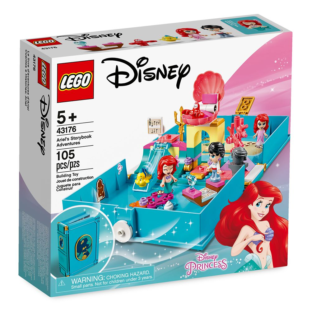 Ariel's Storybook Adventures Building Set by LEGO