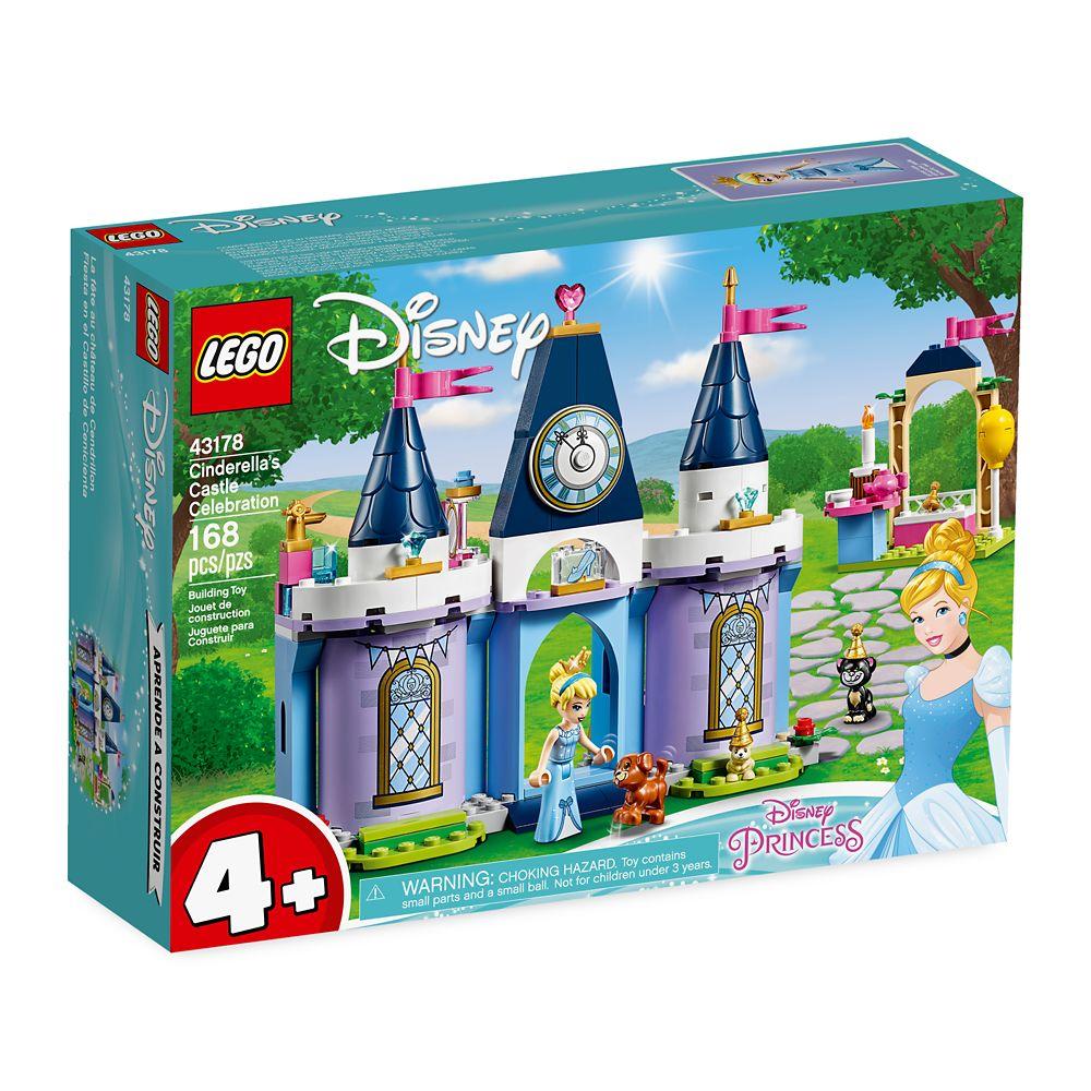 Cinderella's Castle Celebration Building Set by LEGO