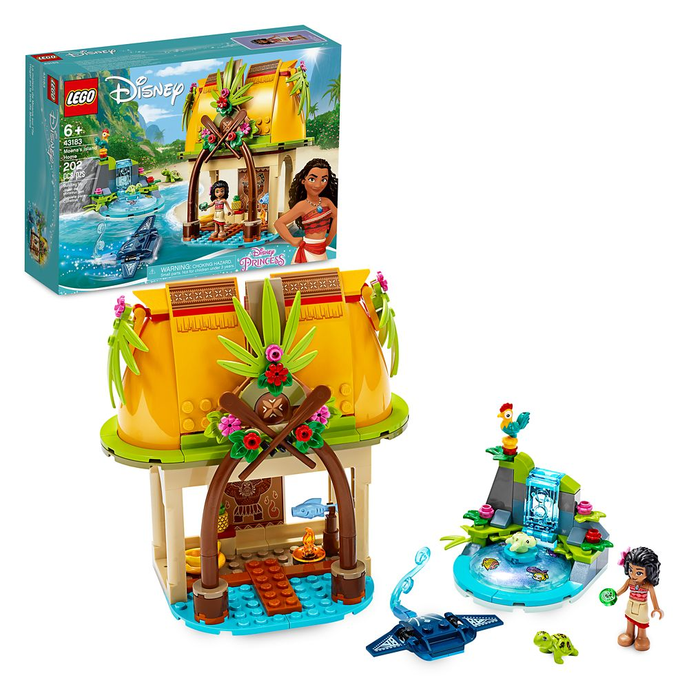 Moana's Island Home Building Set by LEGO