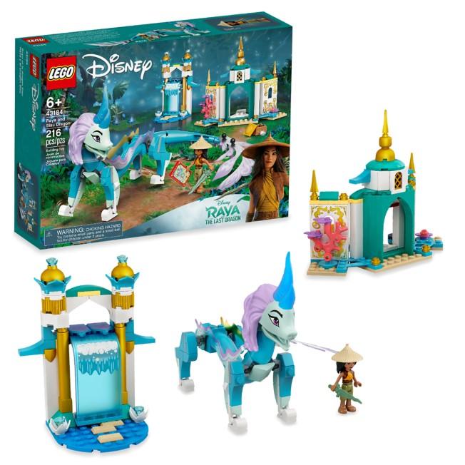 LEGO Raya and Sisu Dragon 43184 – Disney Raya and the Last Dragon