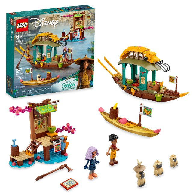 LEGO Boun's Boat 43185 – Disney Raya and the Last Dragon