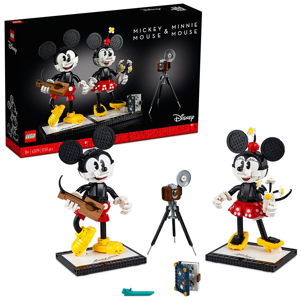LEGO Mickey Mouse & Minnie Mouse Buildable Characters 43179 Building Set – Pre-Order