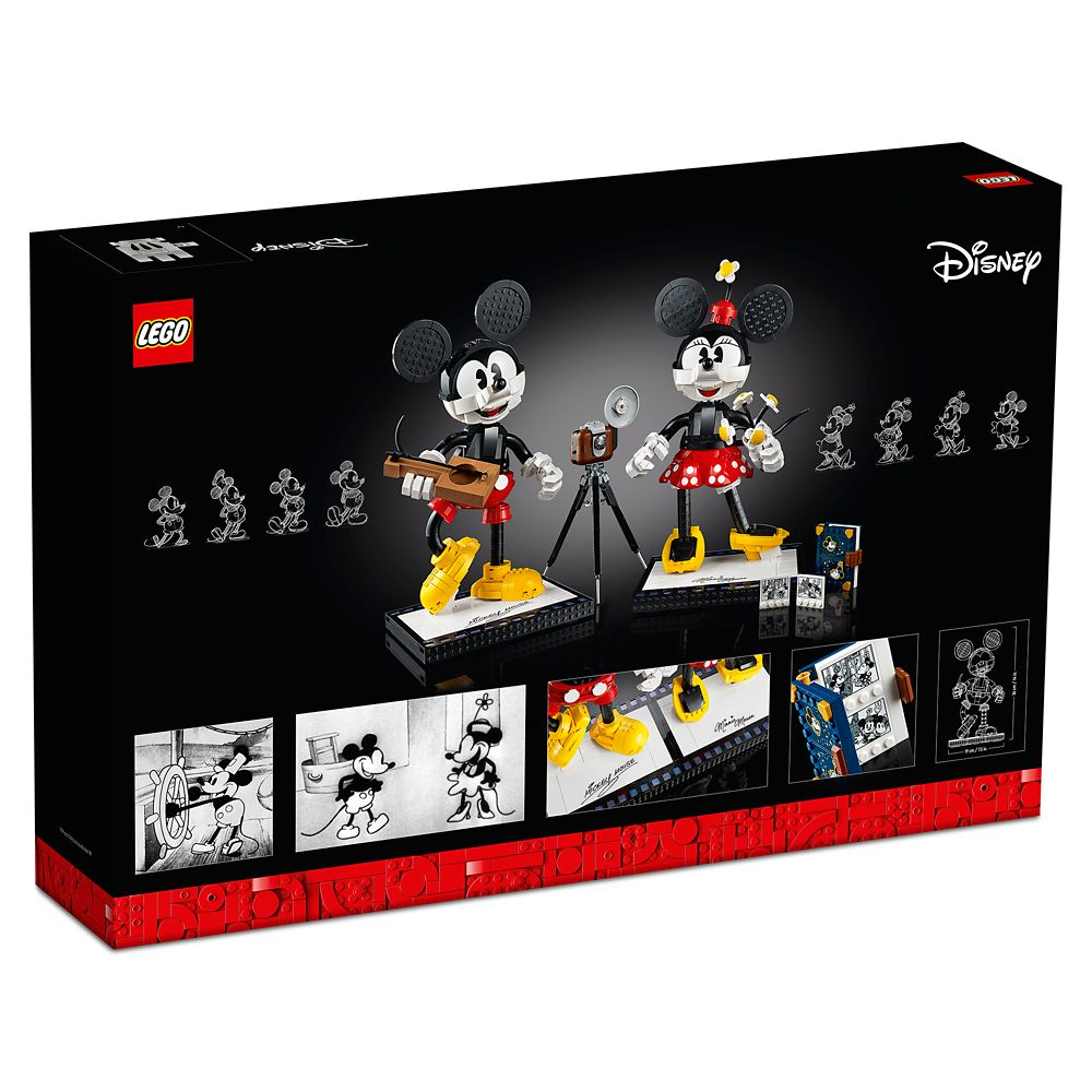 LEGO Mickey Mouse & Minnie Mouse Buildable Characters 43179 Building Set