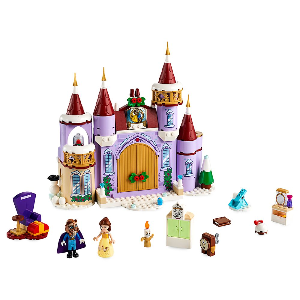 LEGO Disney Princess Belle's Castle Winter Celebration 43180