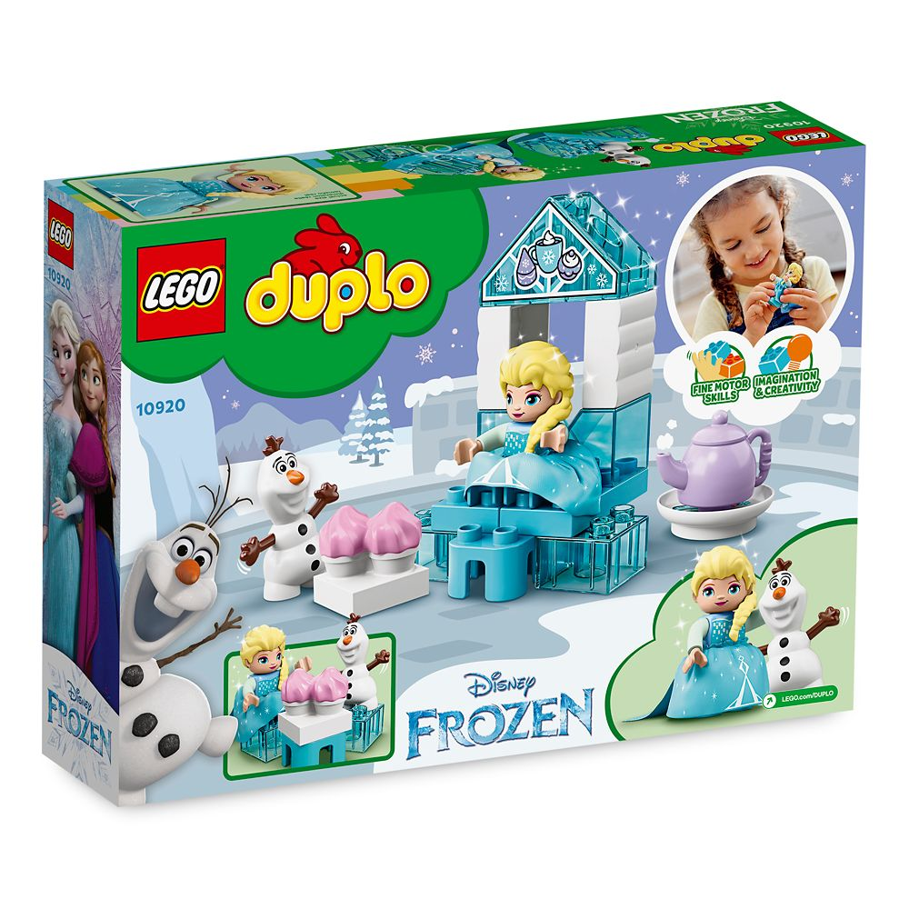 Elsa and Olaf's Tea Party Duplo Building Set by LEGO – Frozen