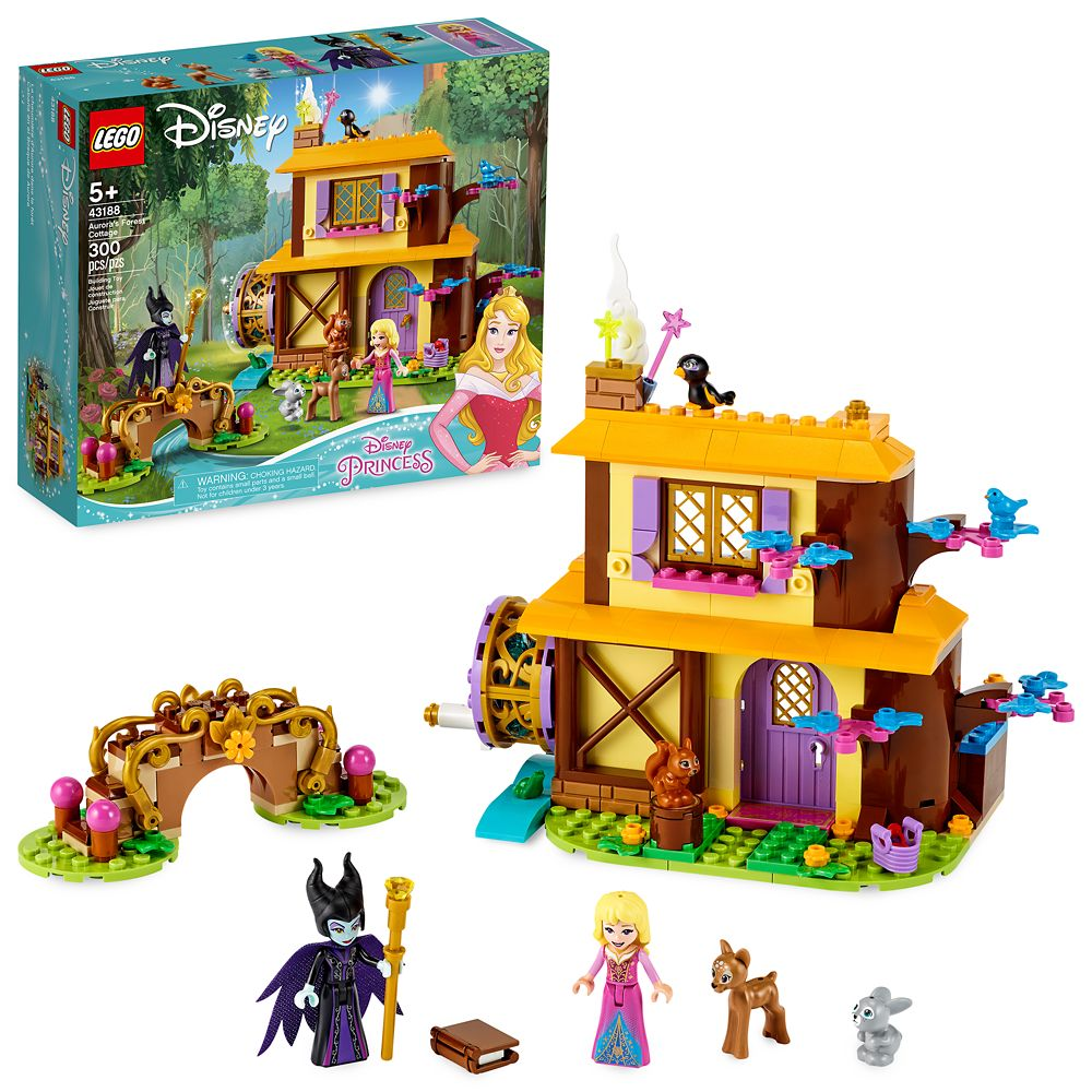 LEGO Aurora's Forest Cottage 43188