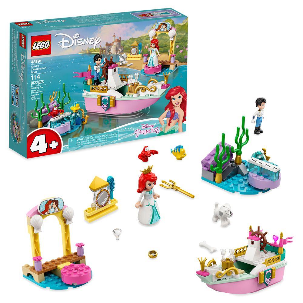 LEGO Ariel's Celebration Boat – The Little Mermaid – 43191