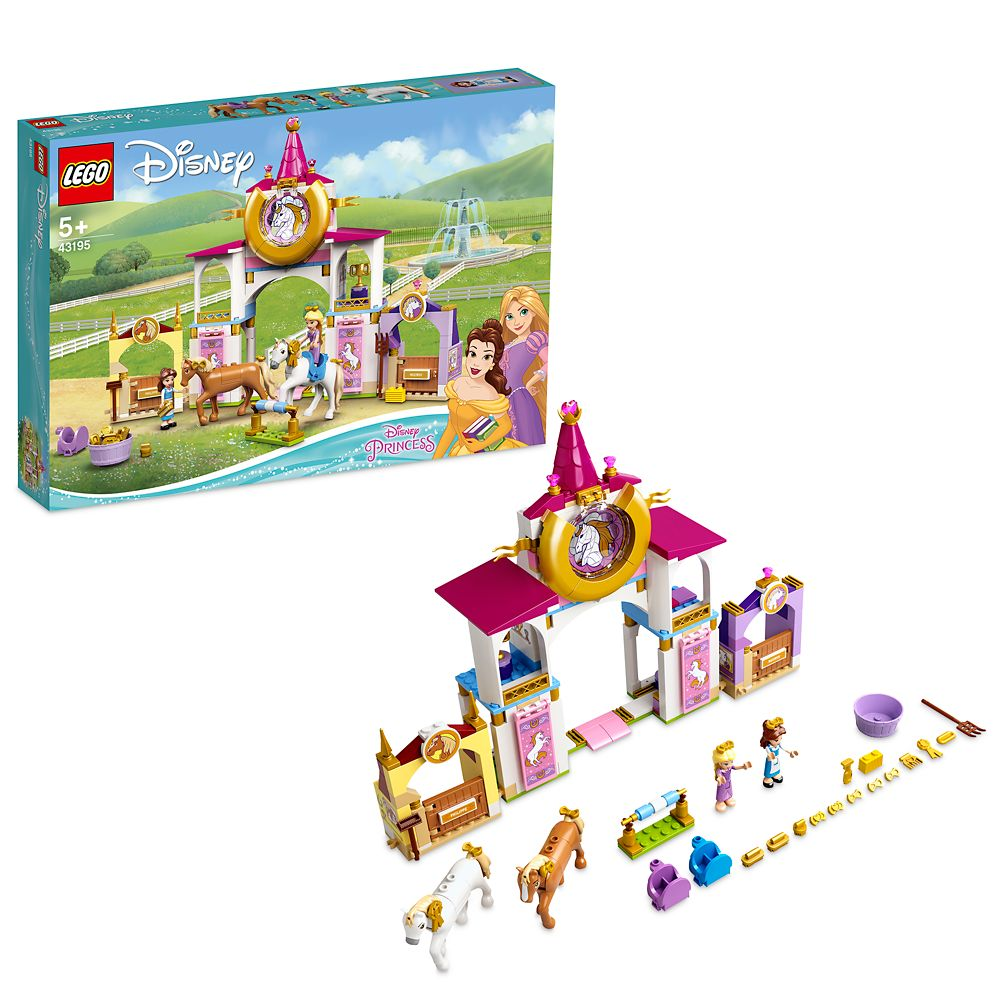 LEGO Belle and Rapunzel's Royal Stables 43195