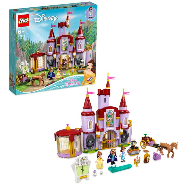 LEGO Belle and the Beast's Castle 43196