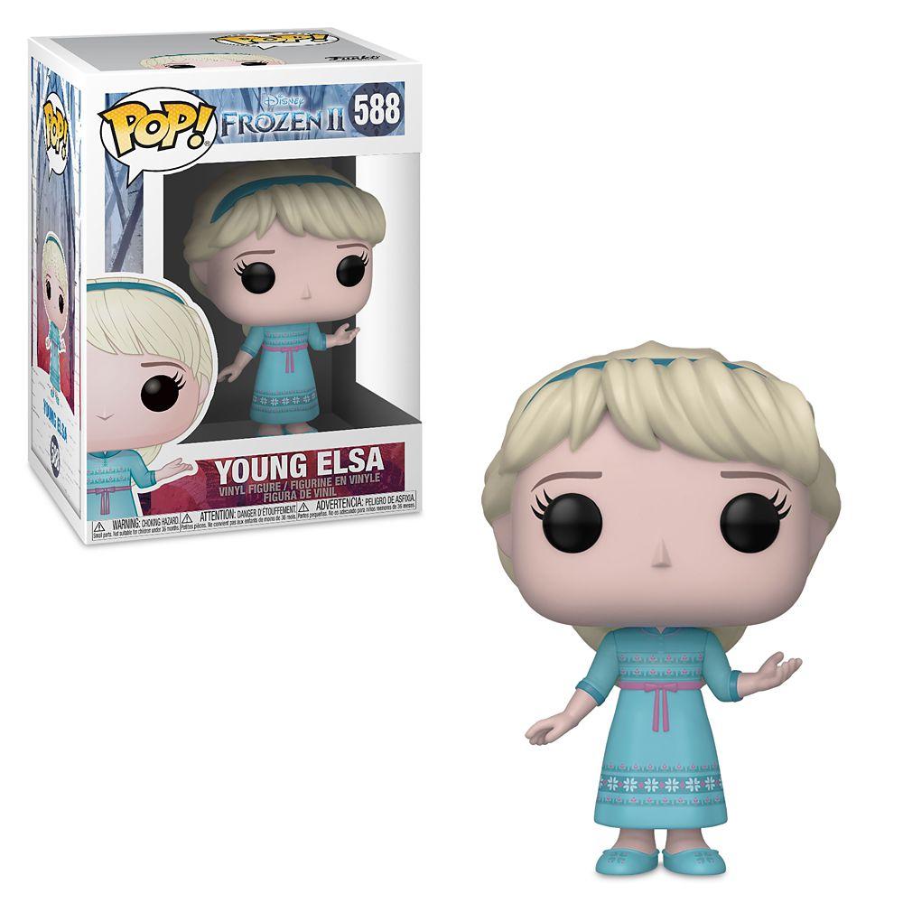 Young Elsa Pop! Vinyl Figure by Funko – Frozen 2