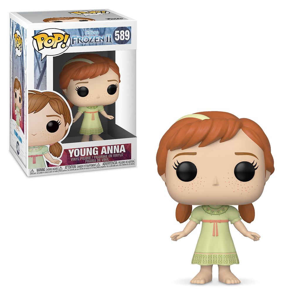 Young Anna Pop! Vinyl Figure by Funko – Frozen 2