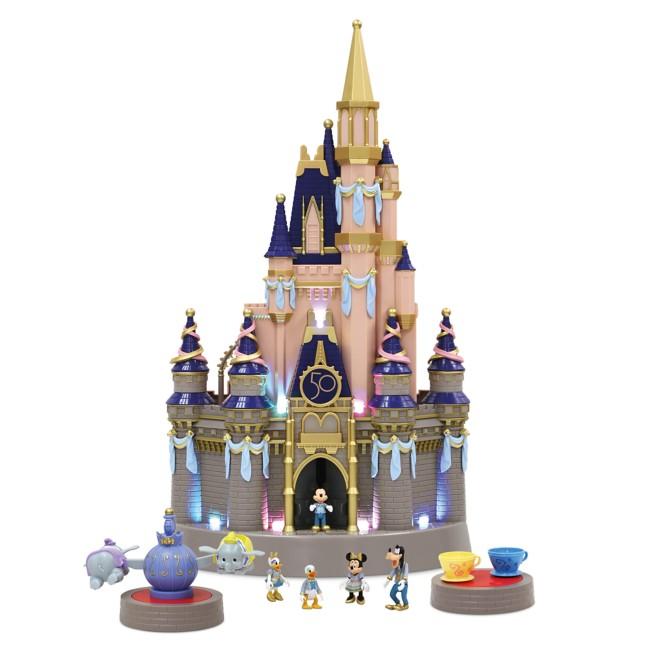 Cinderella Castle Light Up Play Set – Walt Disney World 50th Anniversary