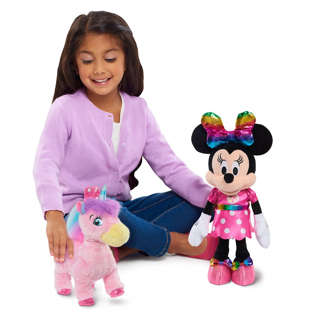 Minnie Mouse and Walk-and-Dance Unicorn Doll Set