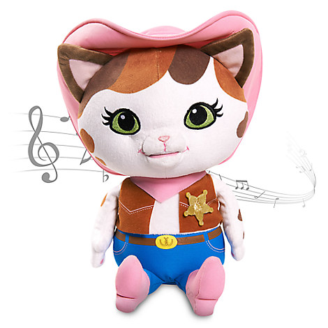 Sheriff Callie's Wild West Callie-oke Sing Along Plush - Small - 12 1/2''