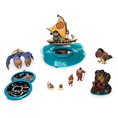 Disney Moana Projection Boat Playset