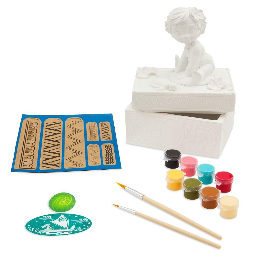 Moana Jewelry Box Paint Set Official shopDisney