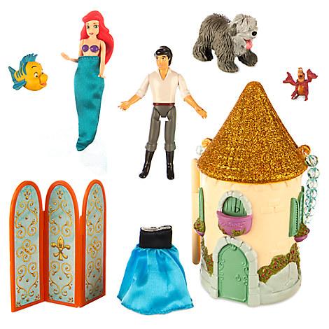Ariel Mini Castle Play Set