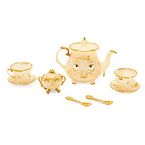 Beauty and the Beast Enchanted Objects Tea Set – Live Action Film