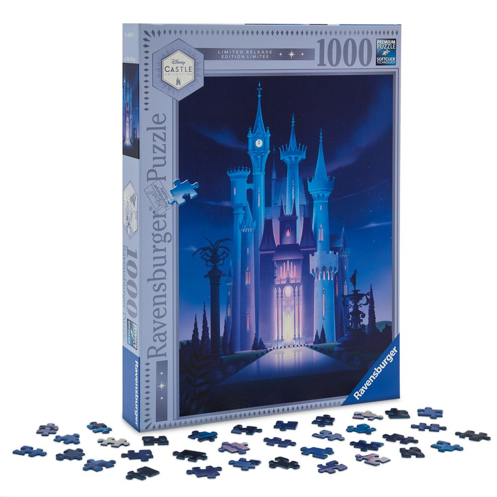 Cinderella Castle Puzzle by Ravensburger – Disney Castle Collection – Limited Release
