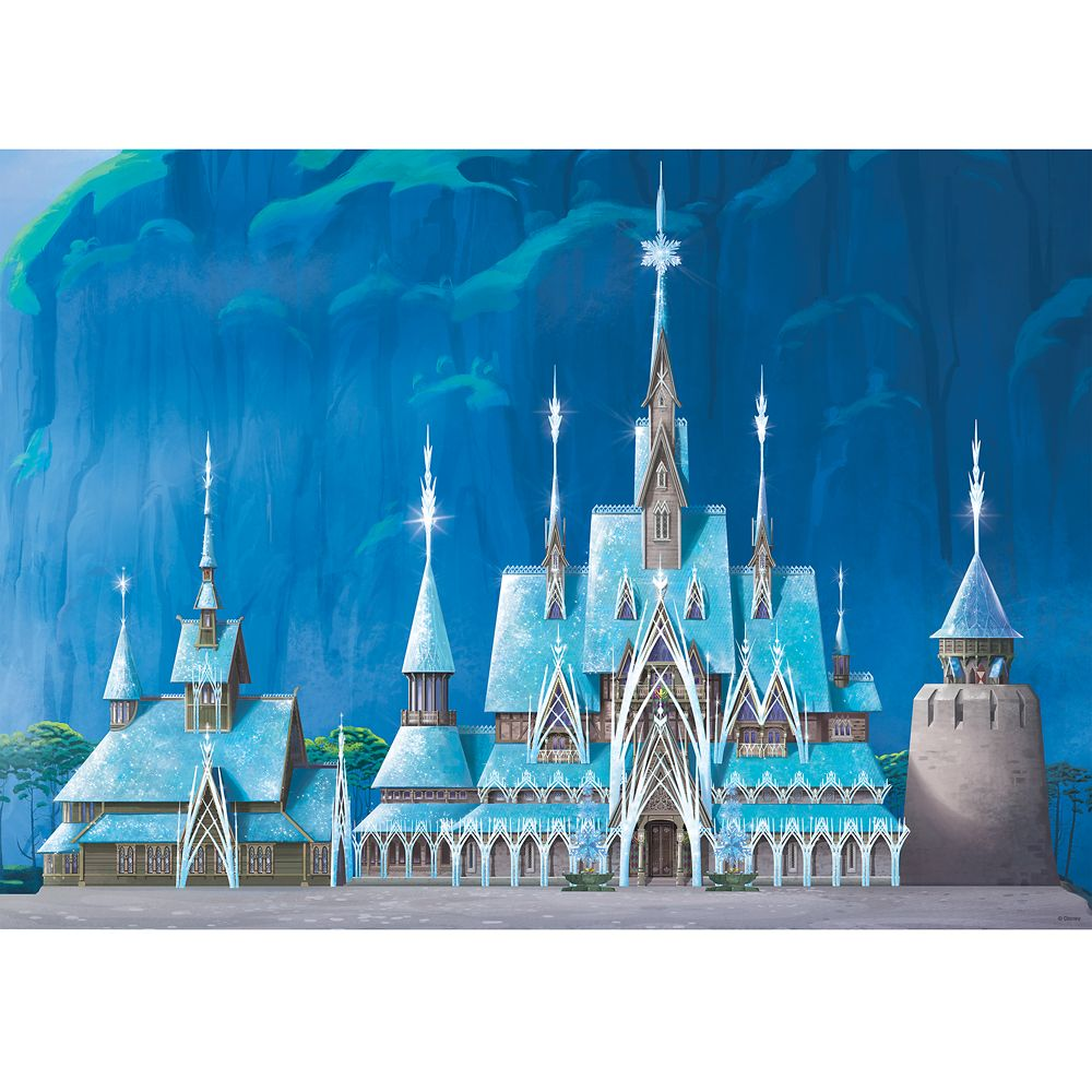 Frozen Castle Puzzle by Ravensburger – Disney Castle Collection – Limited Release