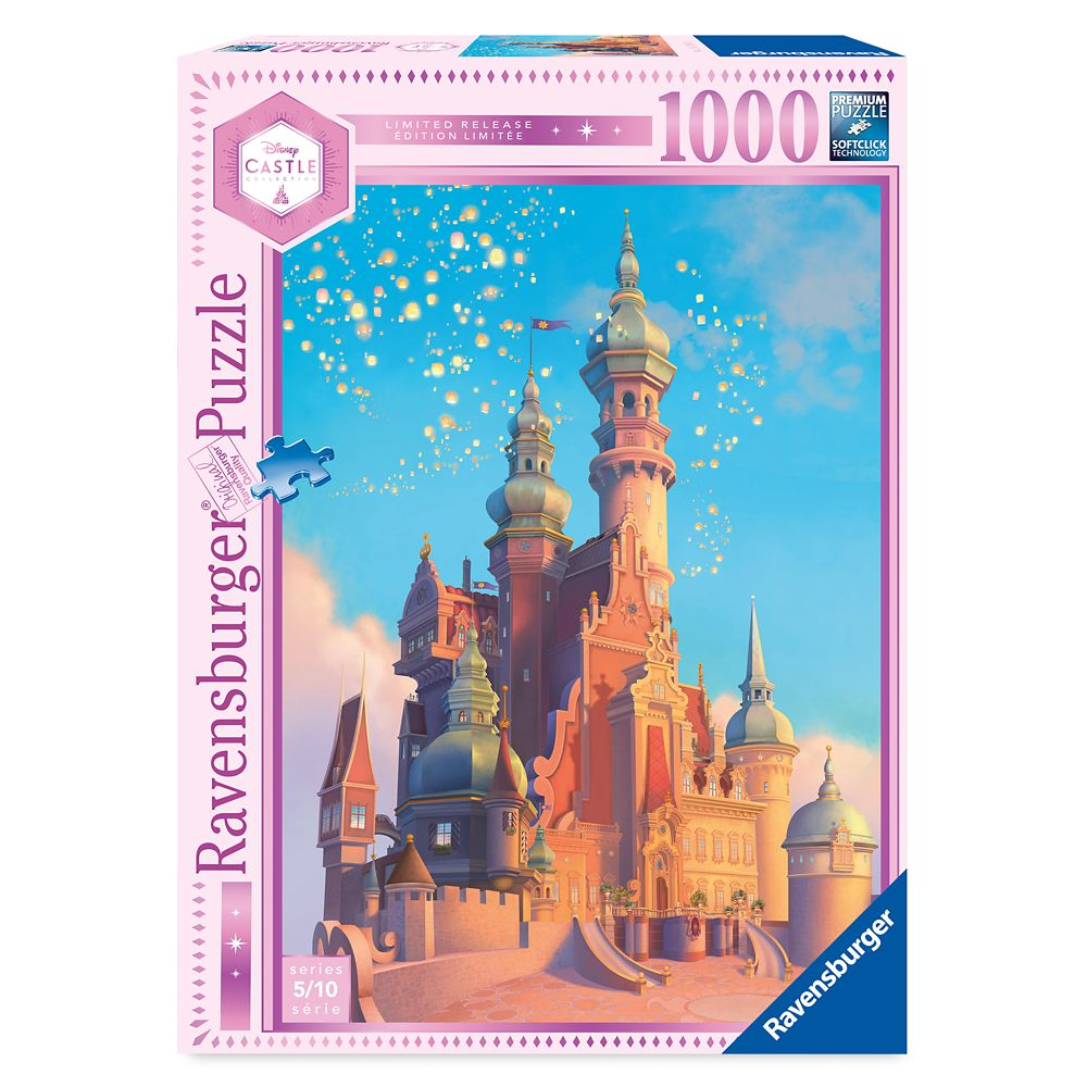 Rapunzel Castle Puzzle by Ravensburger – Tangled – Disney Castle Collection – Limited Release