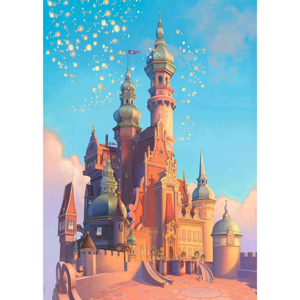 Rapunzel Castle Puzzle by Ravensburger – Tangled – Disney Castle Collection – Limited Release