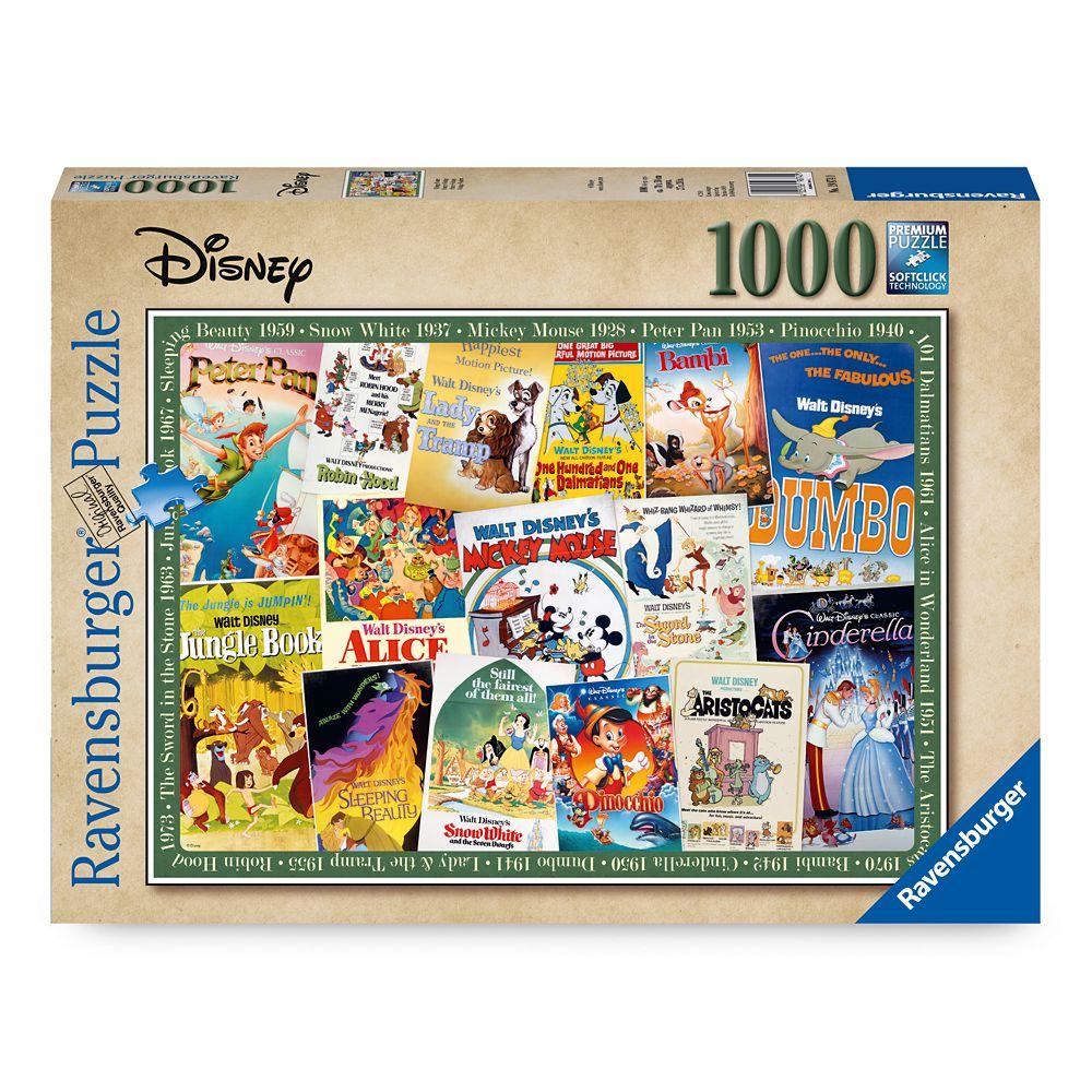 Disney Vintage Movie Poster Puzzle by Ravensburger
