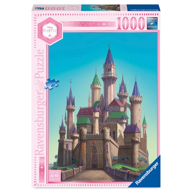 Aurora Castle Puzzle by Ravensburger – Sleeping Beauty – Disney Castle Collection – Limited Release