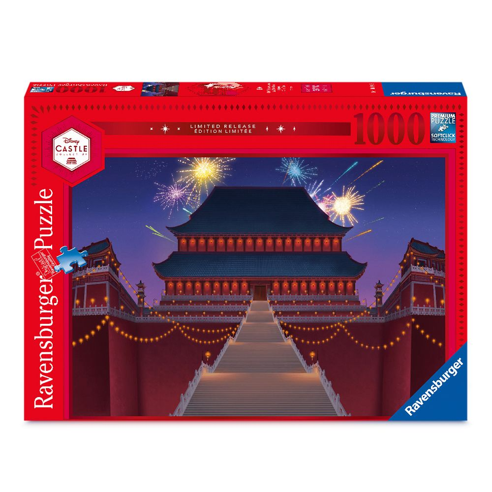 Mulan Imperial Palace Puzzle By Ravensburger Disney Castle Collection Limited Release Shopdisney