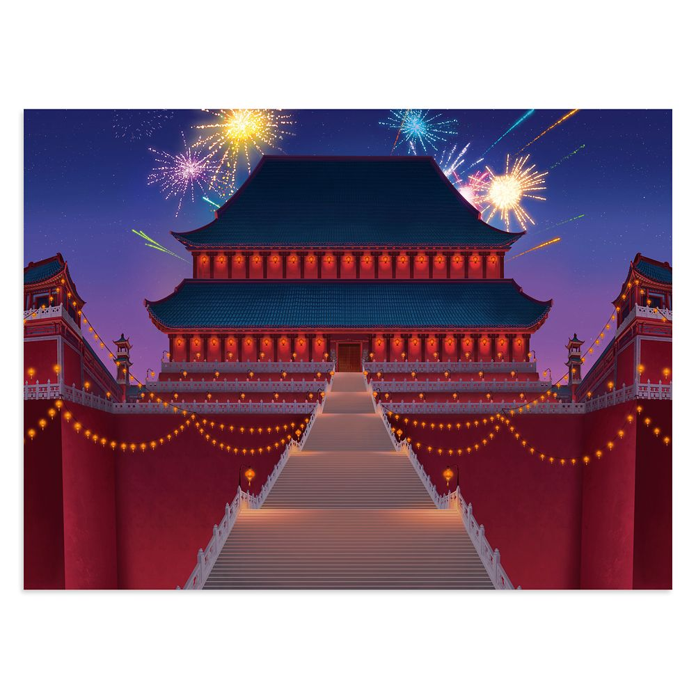 Mulan Imperial Palace Puzzle by Ravensburger – Disney Castle Collection – Limited Release