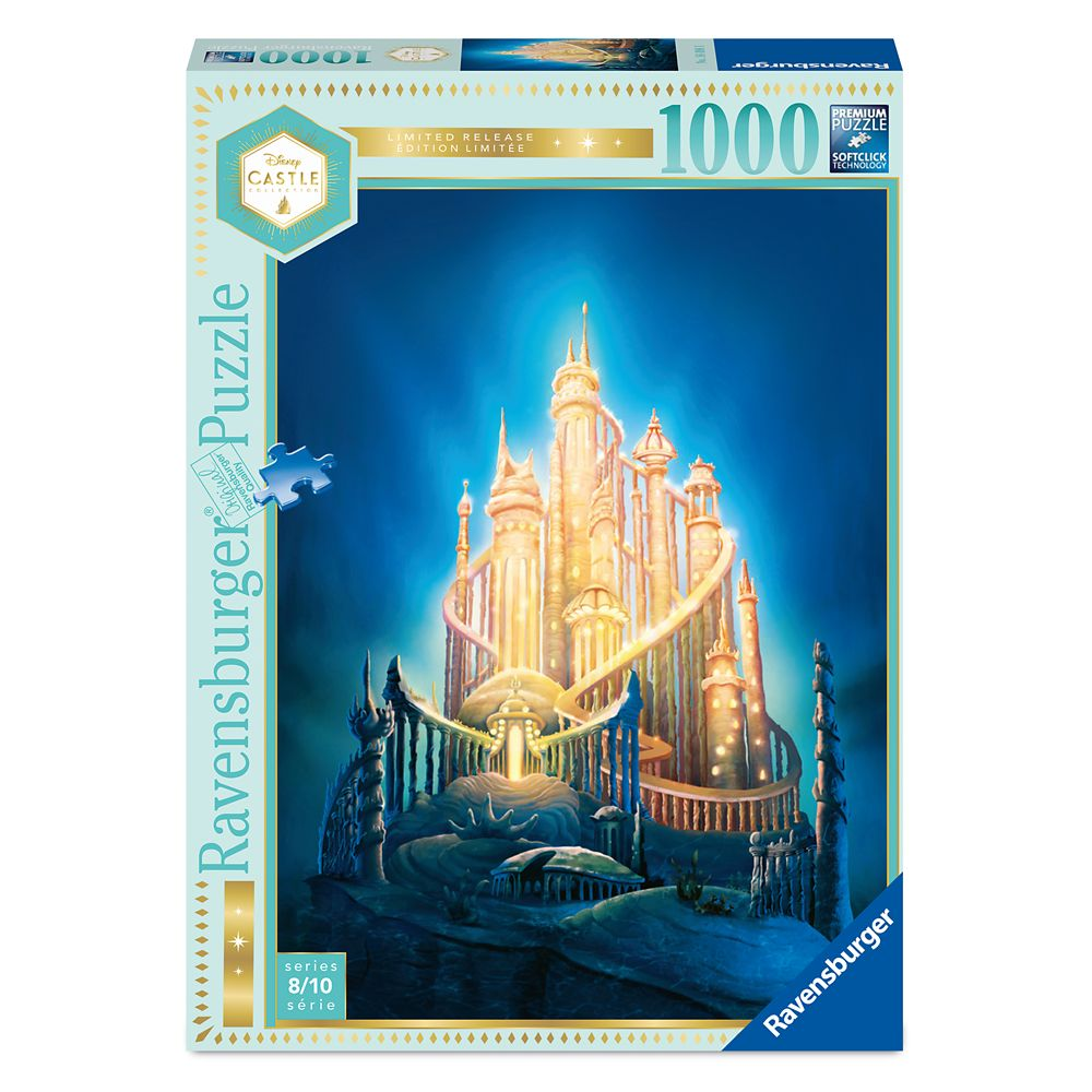 Ariel Castle Puzzle by Ravensburger – The Little Mermaid – Disney Castle Collection – Limited Release