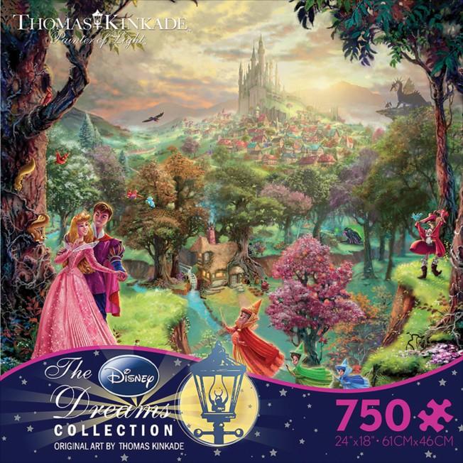 Sleeping Beauty Puzzle by Thomas Kinkade