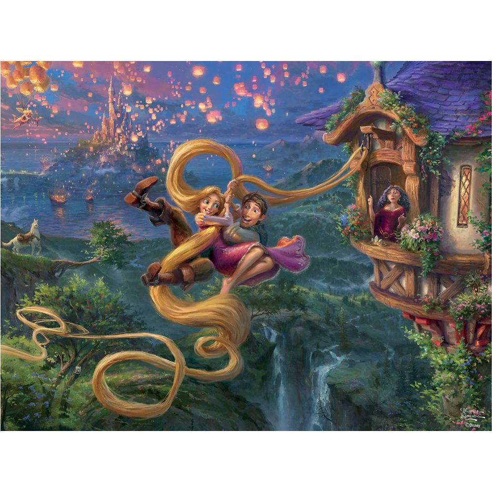 Tangled Puzzle by Thomas Kinkade