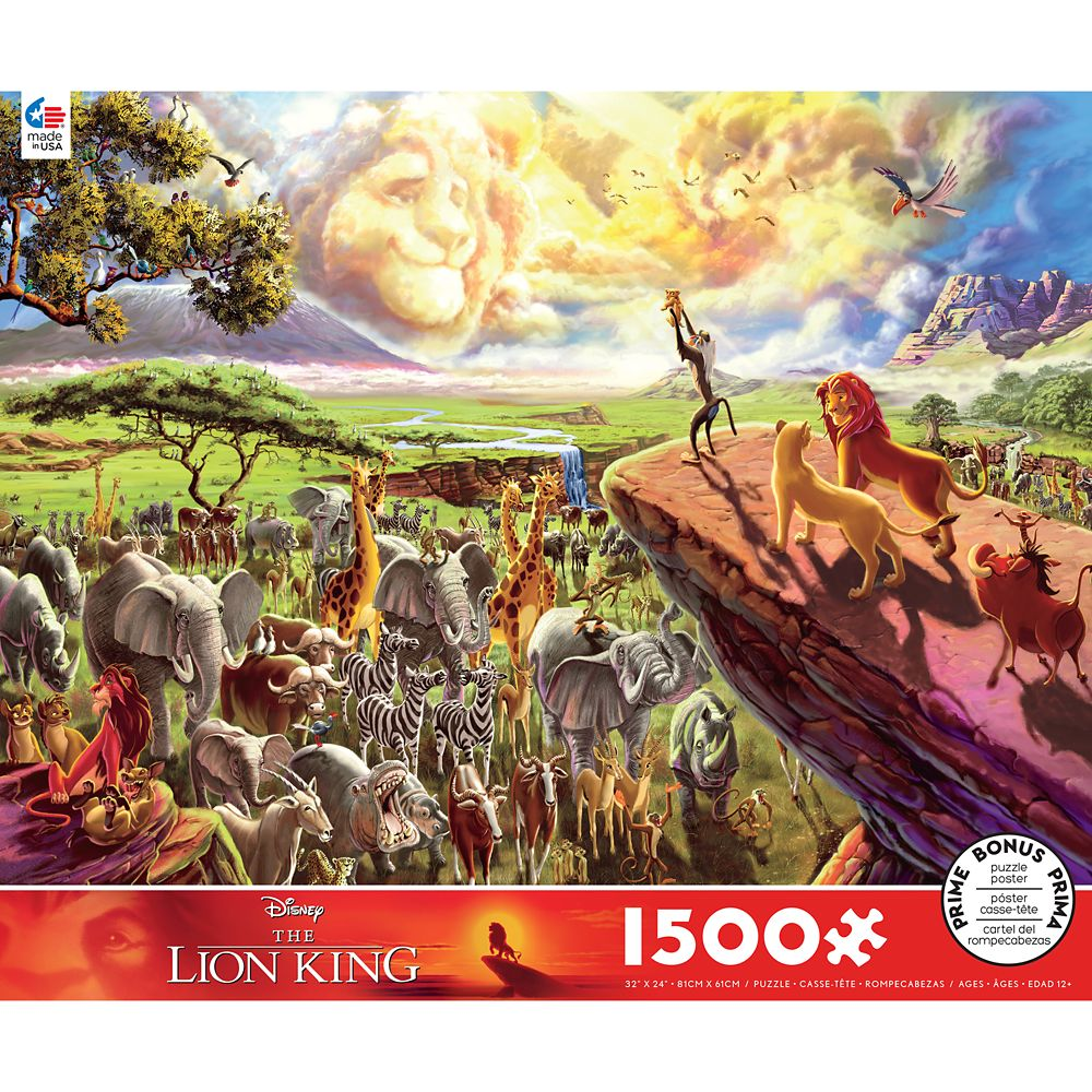 The Lion King Puzzle by Ceaco
