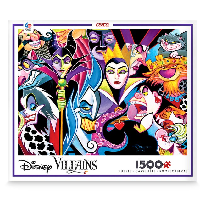 Disney Villains Jigsaw Puzzle by Ceaco