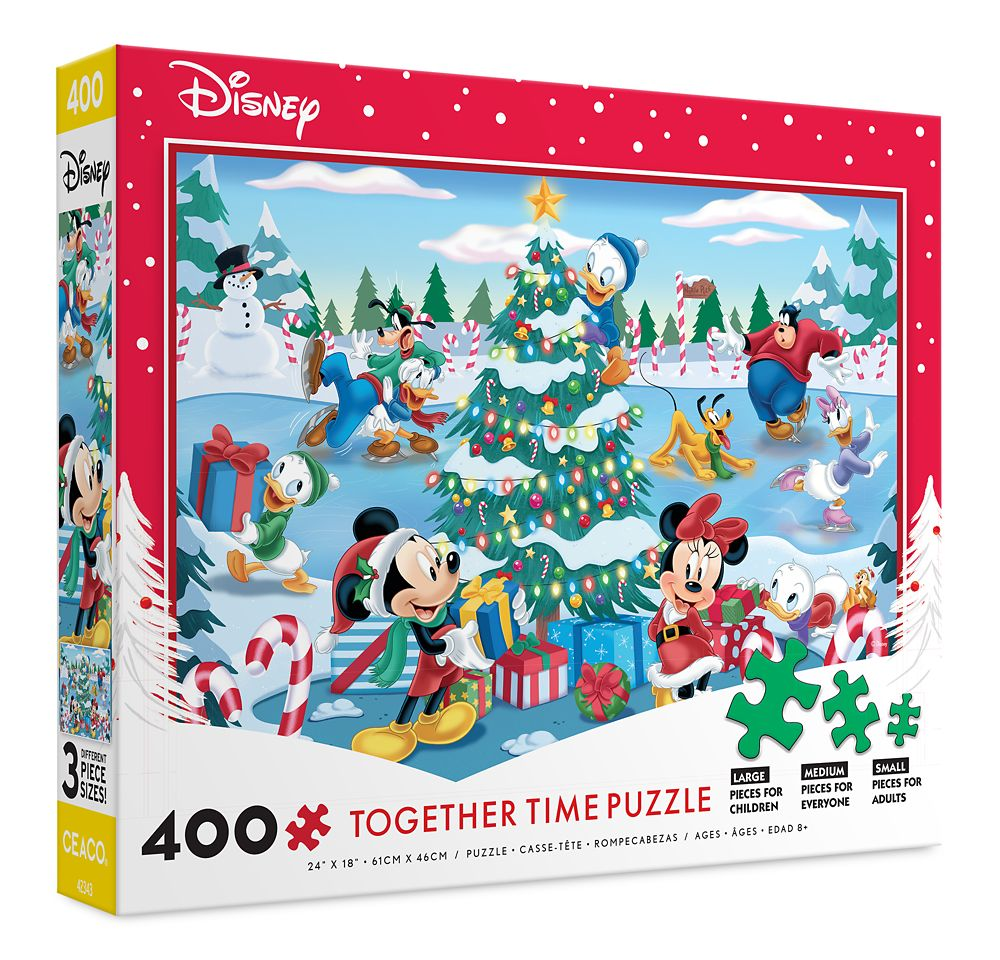 Mickey Mouse and Friends Holiday Together Time Puzzle