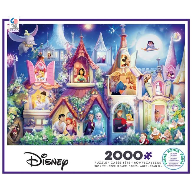 Disney Princess Castle Puzzle