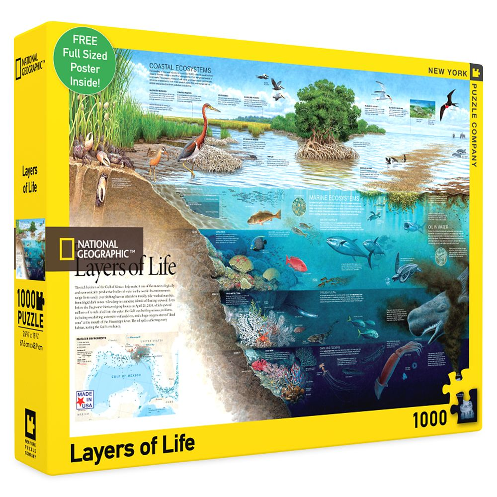 Layers of Life Puzzle – National Geographic