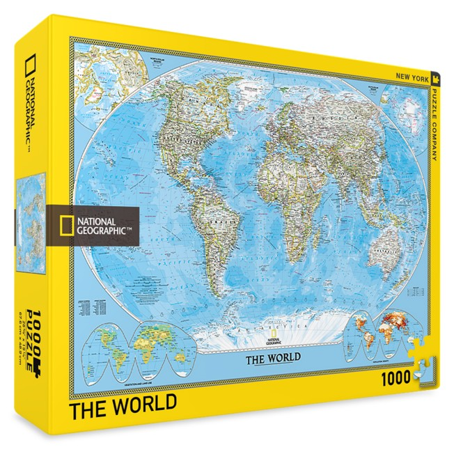 The World Puzzle –National Geographic
