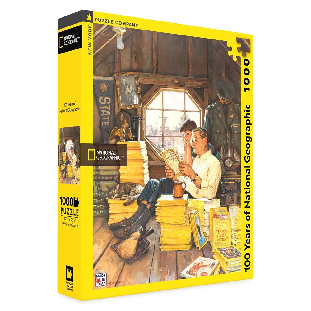 100 Years of National Geographic Puzzle