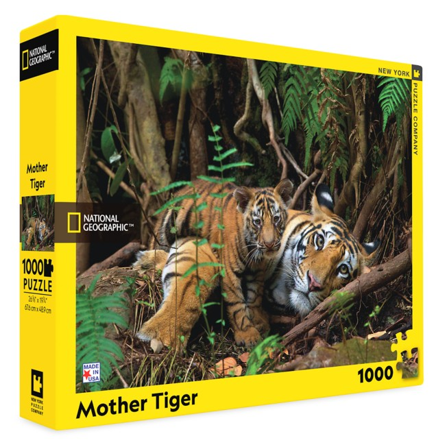 Mother Tiger Puzzle – National Geographic